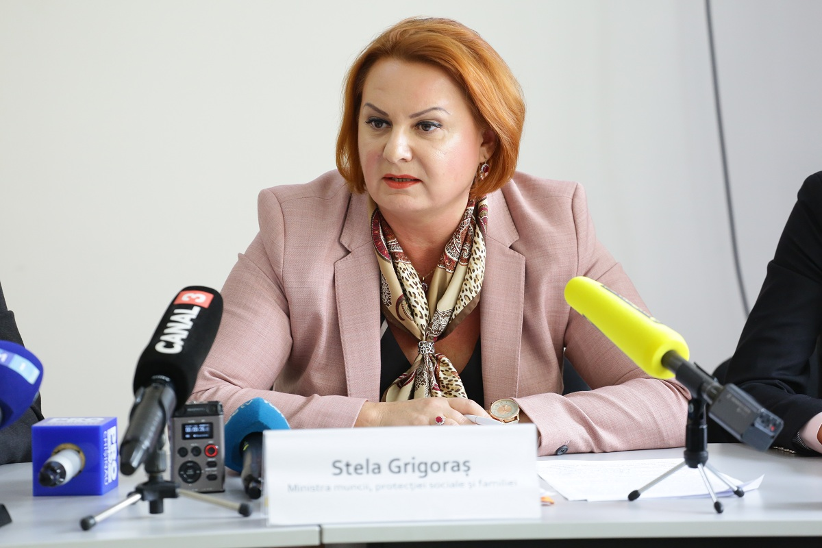 Stela Grigoras, Minister of Health, Labour and Social Protection