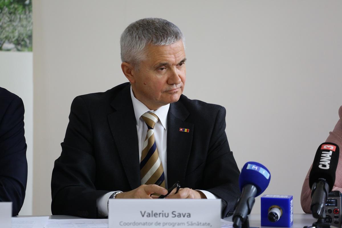 Valeriu Sava, Coordonator Program Sănătate, Agenția Elvețiană pentru Cooperare și Dezvoltare (SDC)
