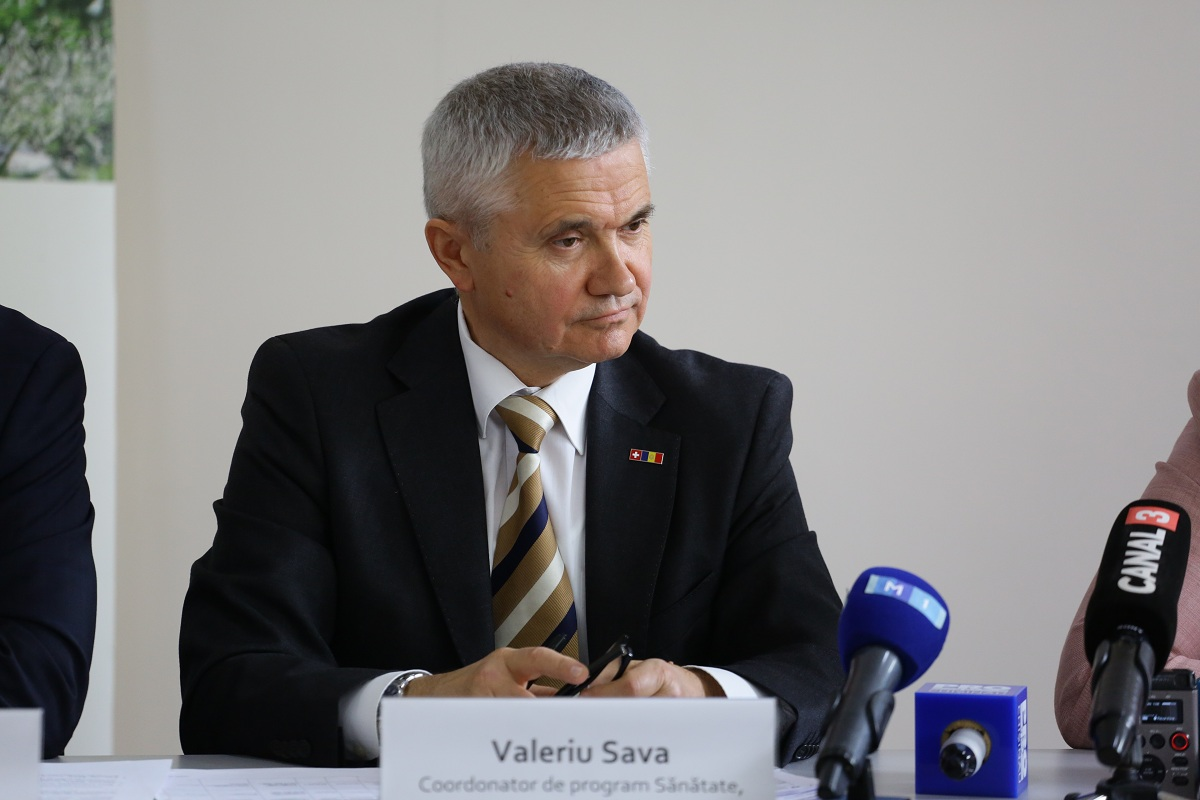 Valeriu Sava, Health Programme Coordinator, Swiss Agency for Development and Cooperation
