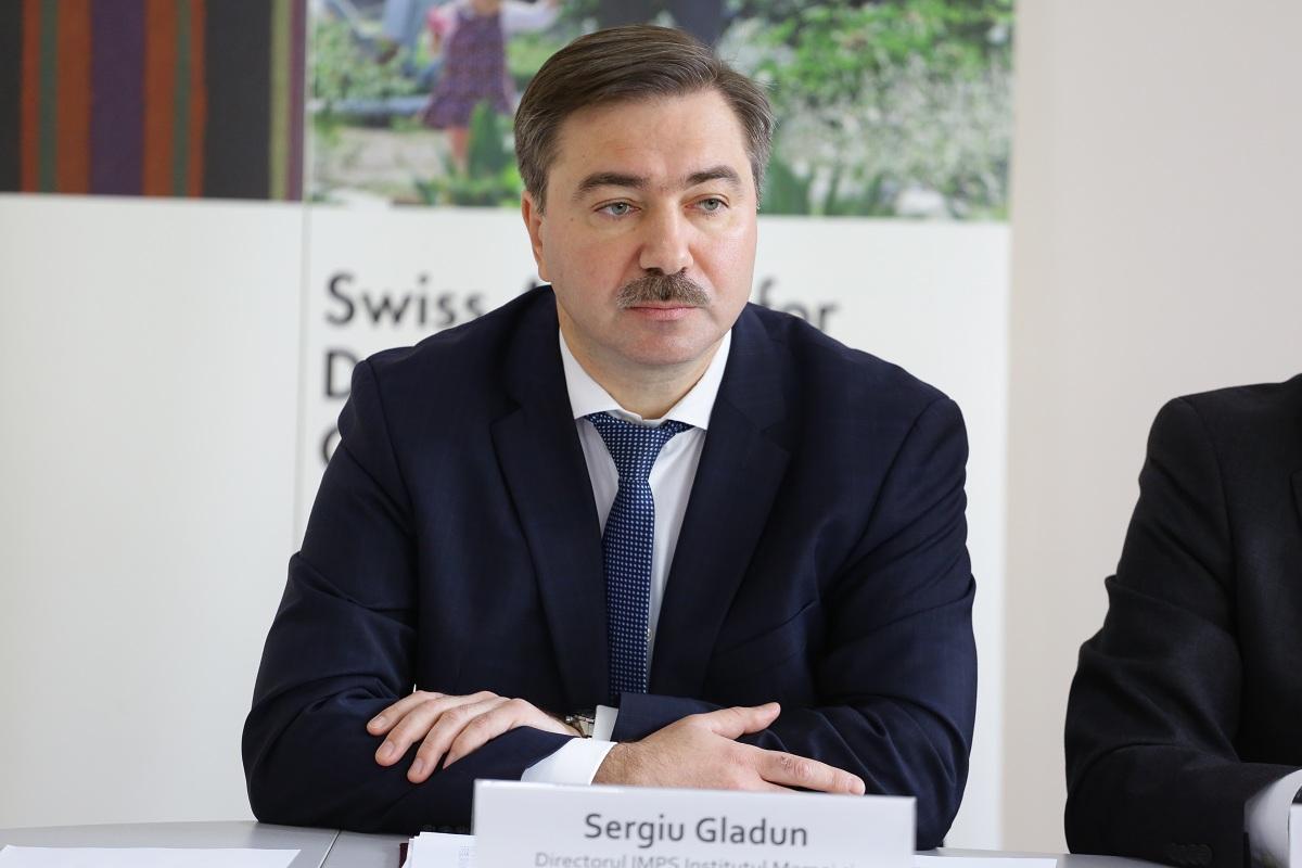 Sergiu Gladun, Director of Mother and Child Institute