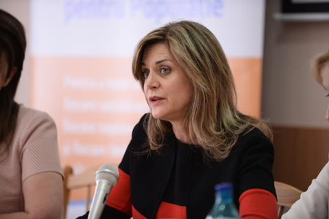 UNFPA Regional Director for Eastern Europe and Asia, Alanna Armitage