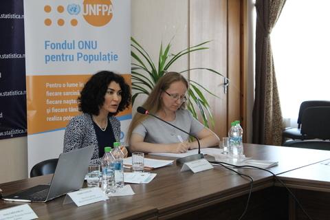 Rita Columbia, UNFPA Representative in Moldova