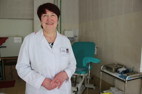 Dr. Svetlana Moroz, the Head of Youth Friendly Health Centre from Cimislia rayon