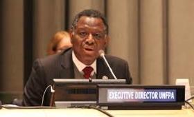 UNFPA Executive Director, Dr. Babatunde Osotimehin