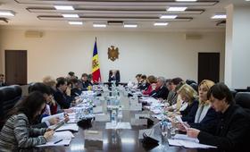 Ședința Comisiei naționale pentru populație și dezvoltare
