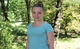 Doina, a young volunteer from Calarasi, helps young people to be informed and healthy
